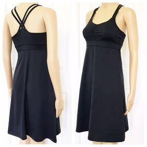 Marmot Black Racerback  athletic mini dress XS
